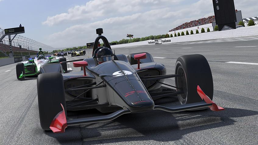 IndyCar Dallara IR18 Motorsport Simulations