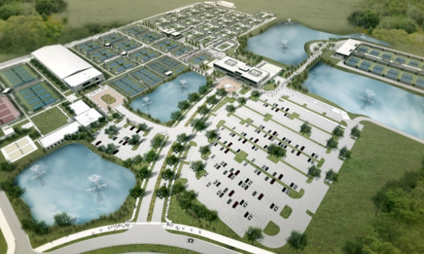 Rendering of USTA National Campus in Orlando