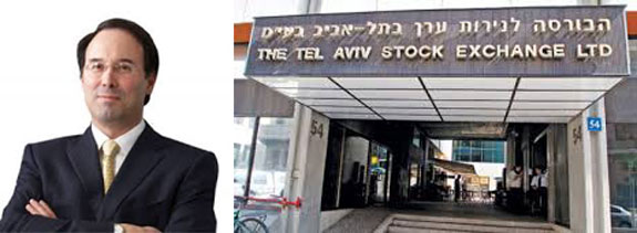 Gary Barnett and the Tel Aviv Stock Exchange