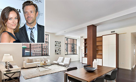 66 Ninth Avenue in the Meatpacking District (inset: Olivia Wilde and Jason Sudeikis)