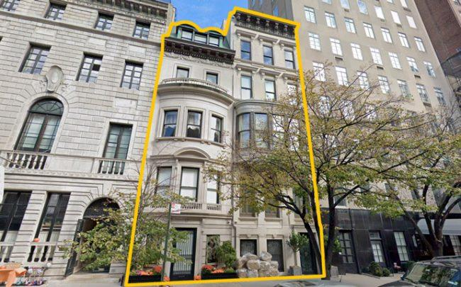 19 and 17 East 79th Street (Credit: Google Maps)