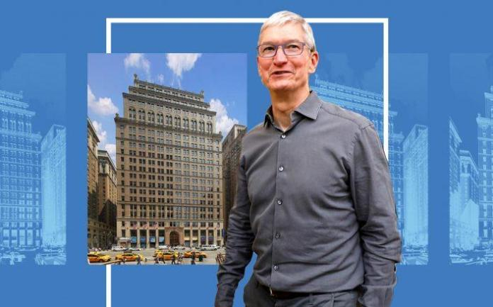 11 Penn Plaza and Apple CEO Tim Cook (VNO; Getty)