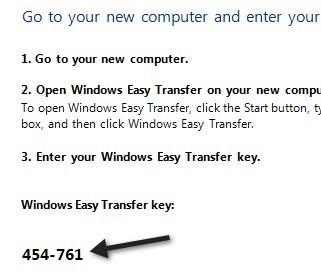 transfer key