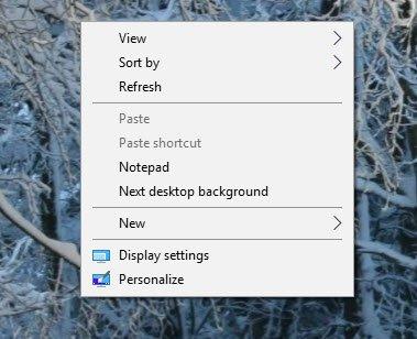 Windows 10 Registry Hacks context menu
