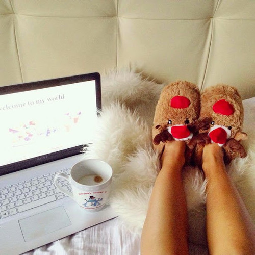 chill, christmas, cold, girl, laptop
