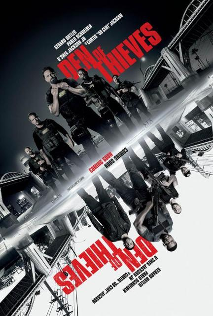 Den of Thieves 2018 Movie Poster