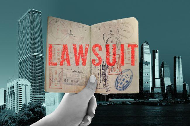 The lawsuit argues the increased amounts will deter foreign investors from the program (Credit: Getty Images, Wikipedia)