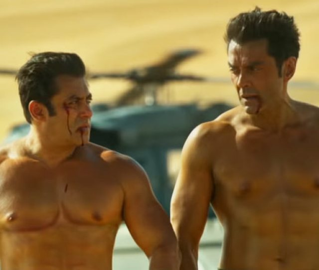 Race 3 Know How Salman Khan Bobby Deols Shirtless Scene Came Into Existence