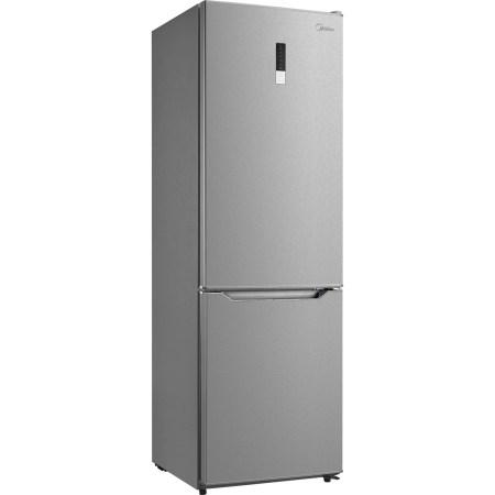 Combina frigorifica Midea HD-400RWEN1, 295 l, Clasa A+, Total No Frost, H 188 cm, Inox