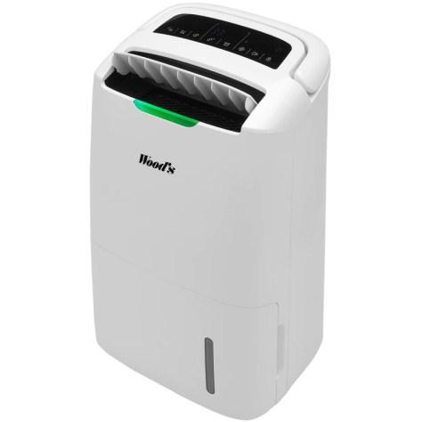 Dezumidificator si purificator Woods AD20G Hybrid Capacitate 20 litri/zi Indicator nivel calitate aer Timer