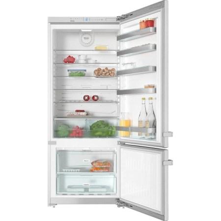 Combina frigorifica Miele KFN 15842, 331 l, Clasa A++, H 186 cm, Inox