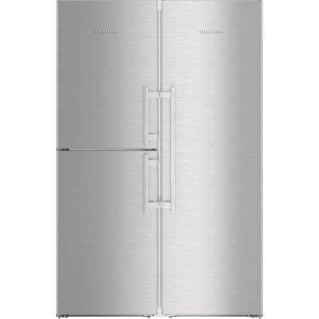 Side by Side Liebherr SBSes 8473, 688 l, Clasa A+++, No Frost, VarioSpace, H 185 cm, Inox