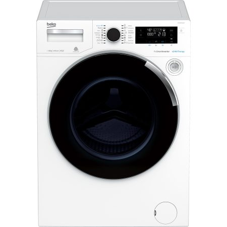 Masina de spalat rufe Beko WTE10744XWAT, 10 kg, 1400 RPM, Clasa A+++, Motor ProSmart Inverter, AirTherapy, Alb