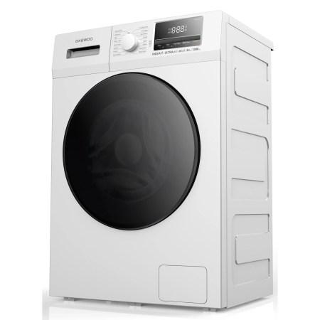 Masina de spalat rufe Daewoo DWD-8T1221P, 8.5 Kg, 1200 RPM, Clasa A+++, 16 programe, Alb