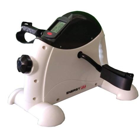 Mini bicicleta fitness Energy Fit volanta 2kg, potrivita persoanelor ce au nevoie de tratament de reabilitare a muschilor bratelor sau picioarelor.