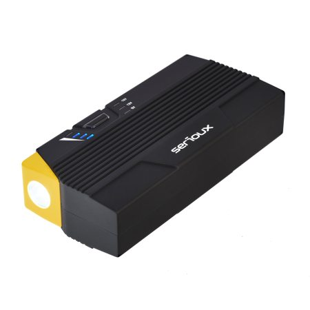Starter auto multifunctional Serioux SRXA12K300A, acumulator extern, lanterna, 12000 mAh