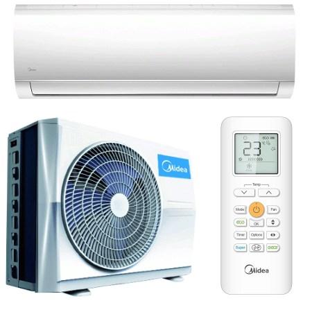 Aparat de aer conditionat Midea Blanc R32, 9000 BTU, Clasa A++, Wi-Fi Control, iECO Mode
