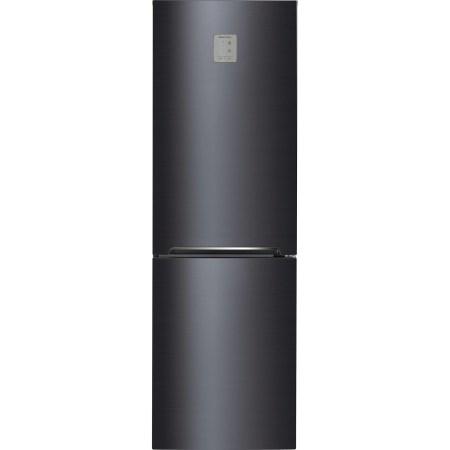Combina frigorifica Daewoo RN-309GDPS, 305 l, Clasa A++, Full No Frost, Iluminare LED, H 187 cm, Gri metalizat
