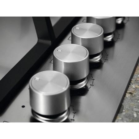 Plita incorporabila Electrolux KGU64361X, Gaz, 4 arzatoare, Aprindere electrica, Dispozitiv siguranta, Arzator WOK, 60 cm, Inox