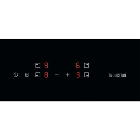 Plita incorporabila Electrolux EIT60428C, Inductie, 4 zone de gatit, Control Touch, 60 cm, Sticla Neagra