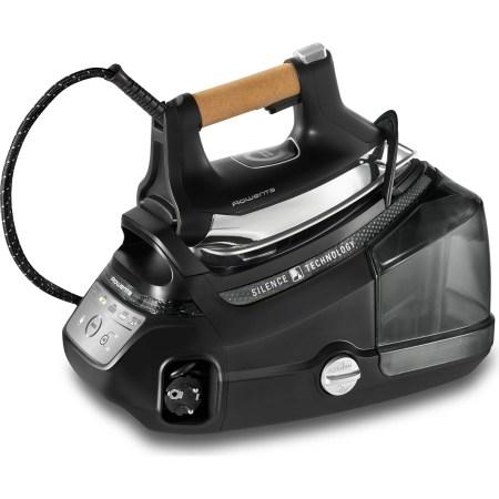 Statie de calcat Rowenta Silence Pro DG9268F0, 2800W,1.3l, 600g/min, Talpa Microsteam 400HD 3De Laser, Negru