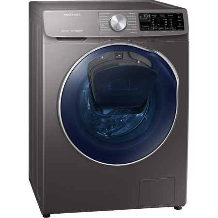 Masina de spalat rufe cu uscator Samsung WD90N642O2X/LE, 1400 RPM, 9 kg spalare / 5 kg uscare, Clasa A, QuickDrive, Eco Bubble, AddWash, Motor Digital Inverter, Air Wash, Inox