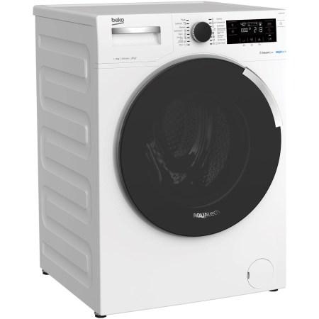 Masina de spalat rufe Beko WTE9744N, 9 kg, 1400 RPM, Clasa A+++, AquaTech™ SteamCure™, ADDGarment, Motor ProSmart Inverter, Alb