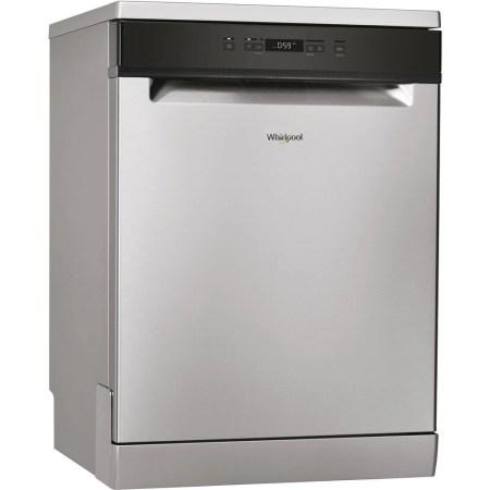 Masina de spalat vase Whirlpool WFC3B19X, 13 seturi, 5 programe, Clasa A+, Display Digital, Motor Inverter, 60 cm, Inox
