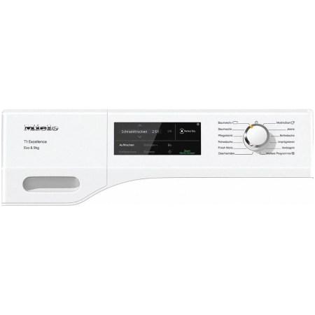 Uscator de rufe Miele TEJ 675 WP, Pompa de caldura, 9kg, Clasa A+++, WiFi, EcoDry, Alb