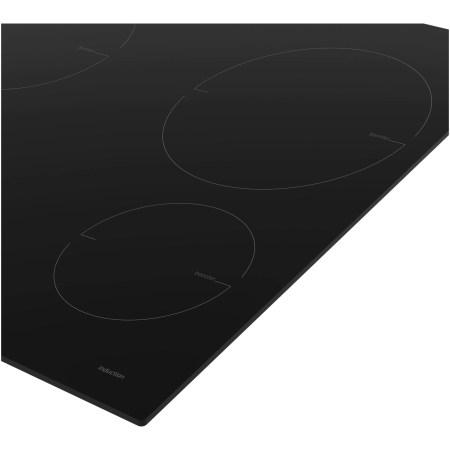 Plita incorporabila Beko HII64200MT, Inductie, 4 zone de gatit, Booster, Direct Acces, Stop & Go, 60 cm, Sticla neagra