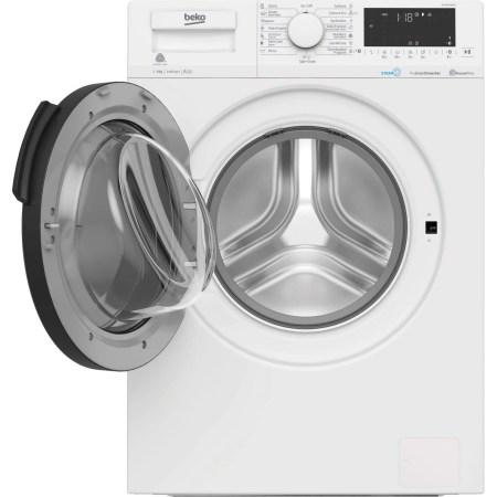 Masina de spalat rufe Beko WTV9716DXST, 9 kg, 1400 RPM, Clasa A+++, HomeWhiz, conectare Bluetooth, SteamCure, AddGarment, Motor ProSmart Inverter, Alb