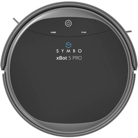 Aspirator robot Symbo xBot 5 PRO WiFi + mop, negru