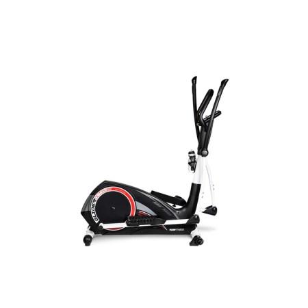 Bicicleta eliptica FLOW FITNESS DCT350i Negru, Greutate utilizator 140 Kg, Sistem de franare avansat magnetic, Pedale ajustabile, Ergonomica, Bluetooth, Roti de transport , Suport tableta