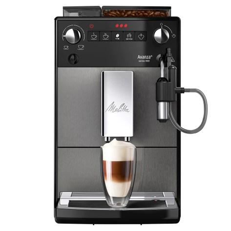 Espressor Automat Melitta® Avanza, 15 bar , Sistem Cappuccinatore, 5 niveluri de granulație