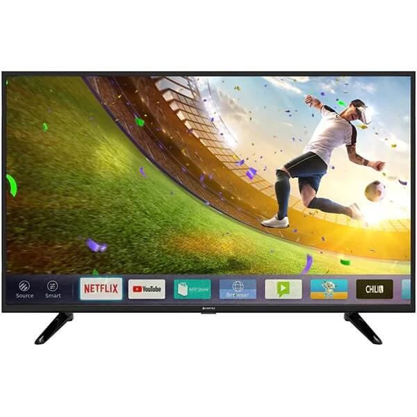 televizor led smart vortex v50td1200s 50 127 cm smart tv plat 4k ultrahd linux negru clasa a