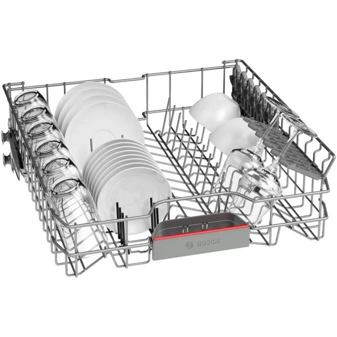 Masina de spalat vase incorporabila Bosch SMV4HTX33E, 12 seturi, 6 programe, Clasa A++, Home Connect, 60 cm,
