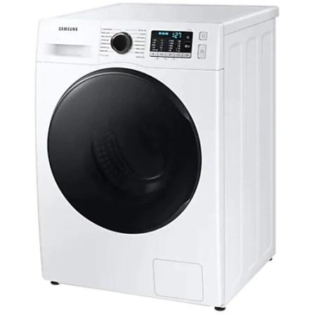 Masina de spalat rufe cu uscator Samsung WD80TA046BE/LE , 8 kg spalare, 5 kg uscare, 1400 rpm, Clasa E, Motor Digital Inverter, Eco Bubble, Bubble Soak, Steam, Airwash, Alb