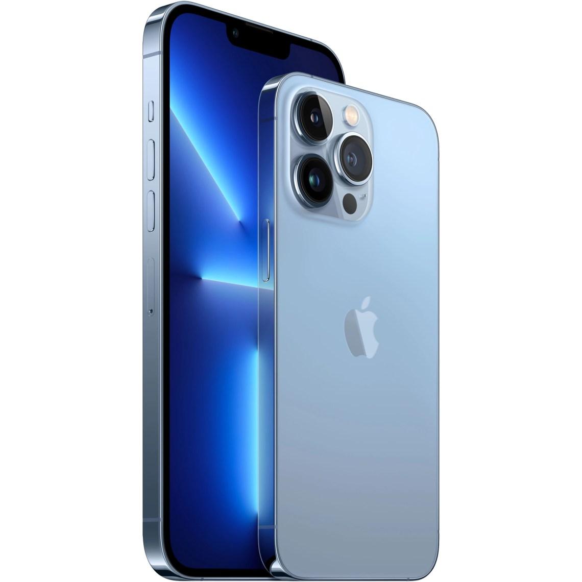 Telefon mobil Apple iPhone 13 Pro Max, 256GB, 5G, Sierra Blue