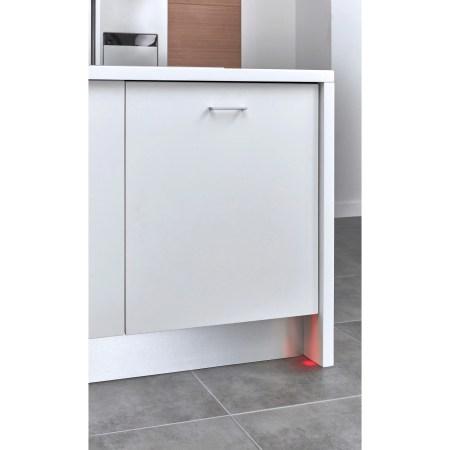 Masina de spalat vase incorporabila Beko DIN28321, 13 seturi, 8 programe, Clasa A++, Motor ProSmart Inverter, Display LCD, AquaDrop, Alb