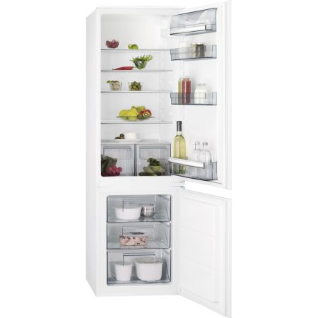 Combina frigorifica incorporabila AEG SCB51811LS, 268 l, Clasa A+, H 178 cm