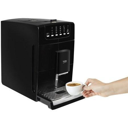 Espressor automat Beko CEG7425B, 1550W, 15 bar, 1.4l, oprire automata, dispozitiv spumare, autocuratare, Negru