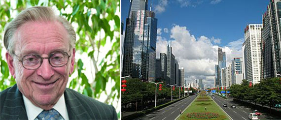 Larry Silverstein and Downtown Shenzen