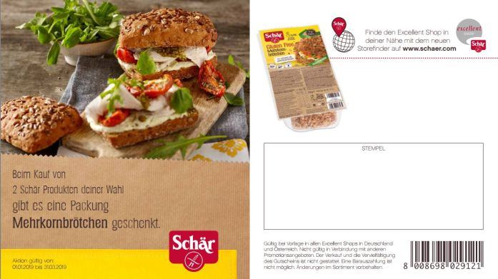 Schär Coupon Q1 2019