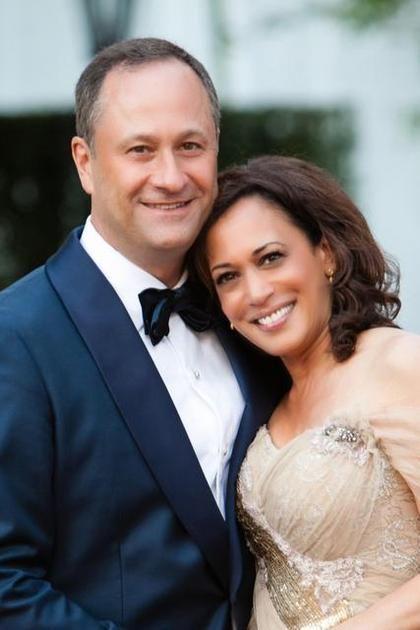 Kamala Harris with her husband Douglas Emhoff
