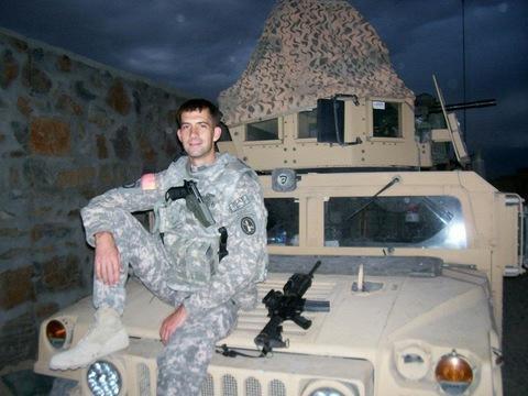 Tom in the U.S. Army