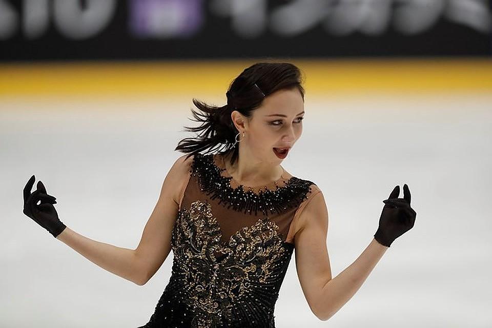 Чемпионка мира и Европы по фигурному катанию Елизавета Туктамышева