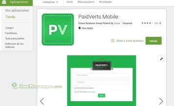 Paidverts saca App para android