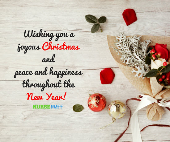10 Christmas Greetings For Nurses NurseBuff