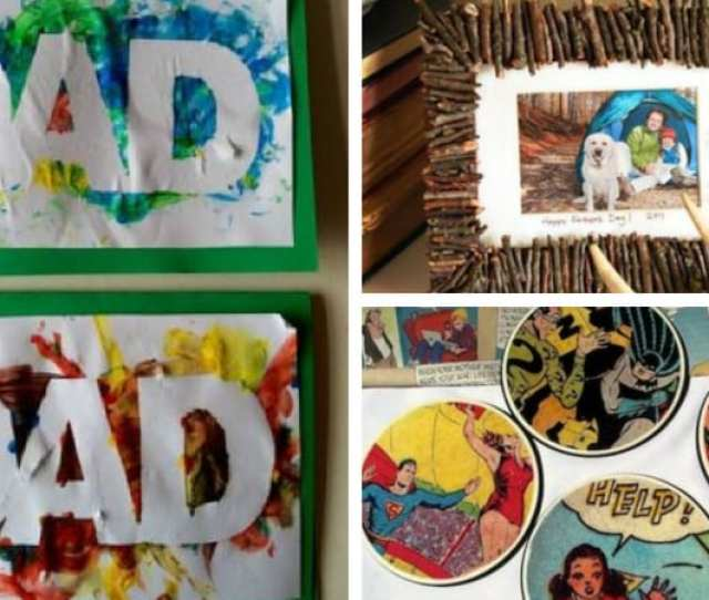 Best Fathers Day Crafts For Kids