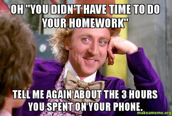 Shut Up And Go Do Your Homework Kevin Hart Meme Generator